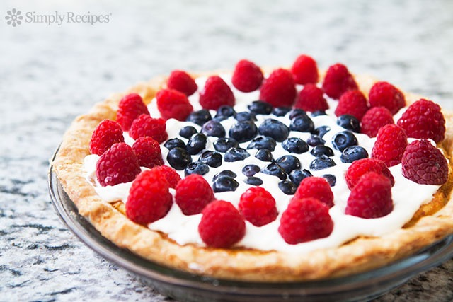 Patriotic Pies - Red, White, and Berries