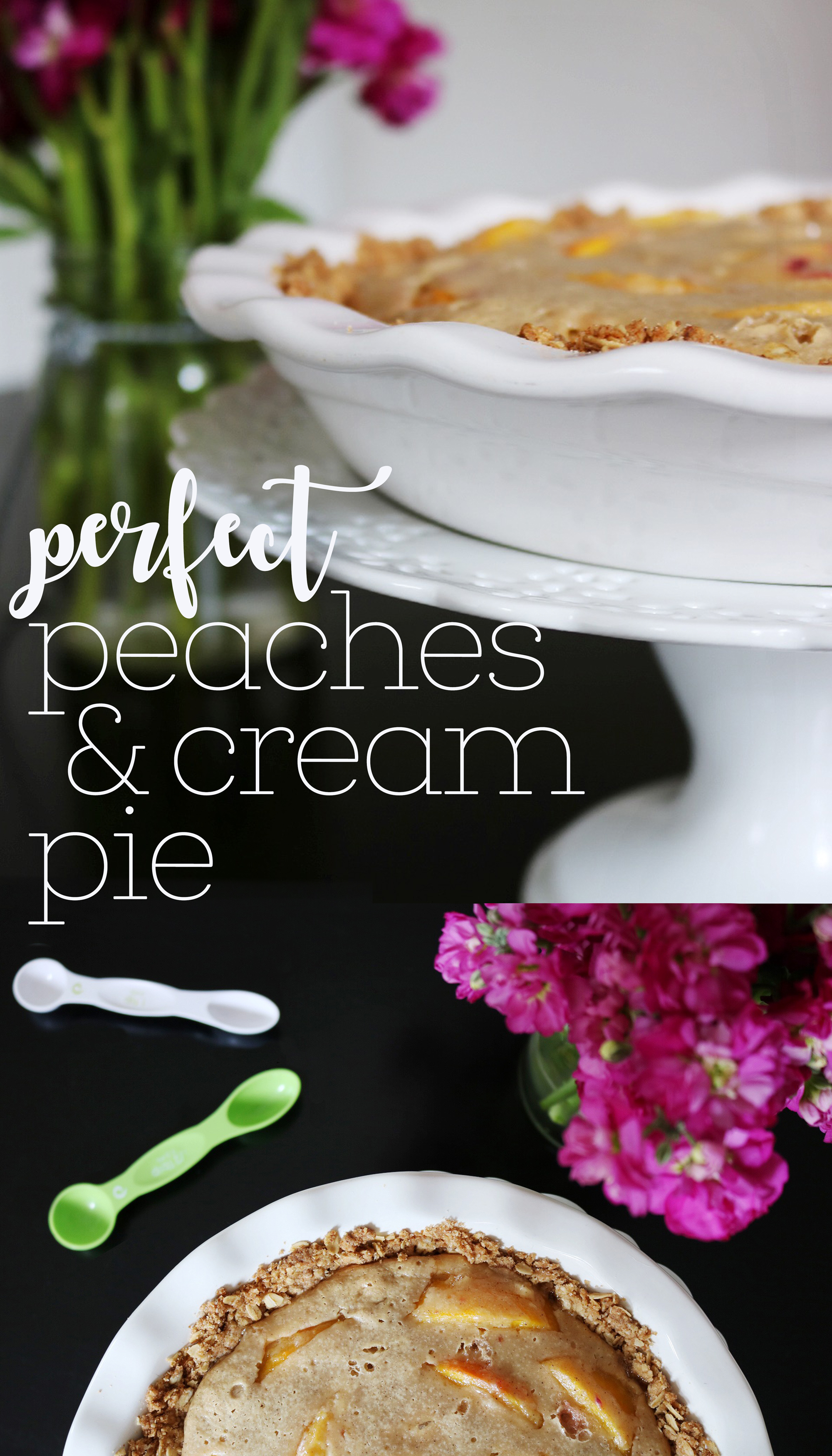 Perfect Peaches & Cream Pie Recipe