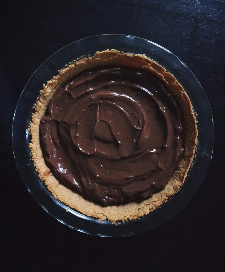 Simple S'mores Pie recipe