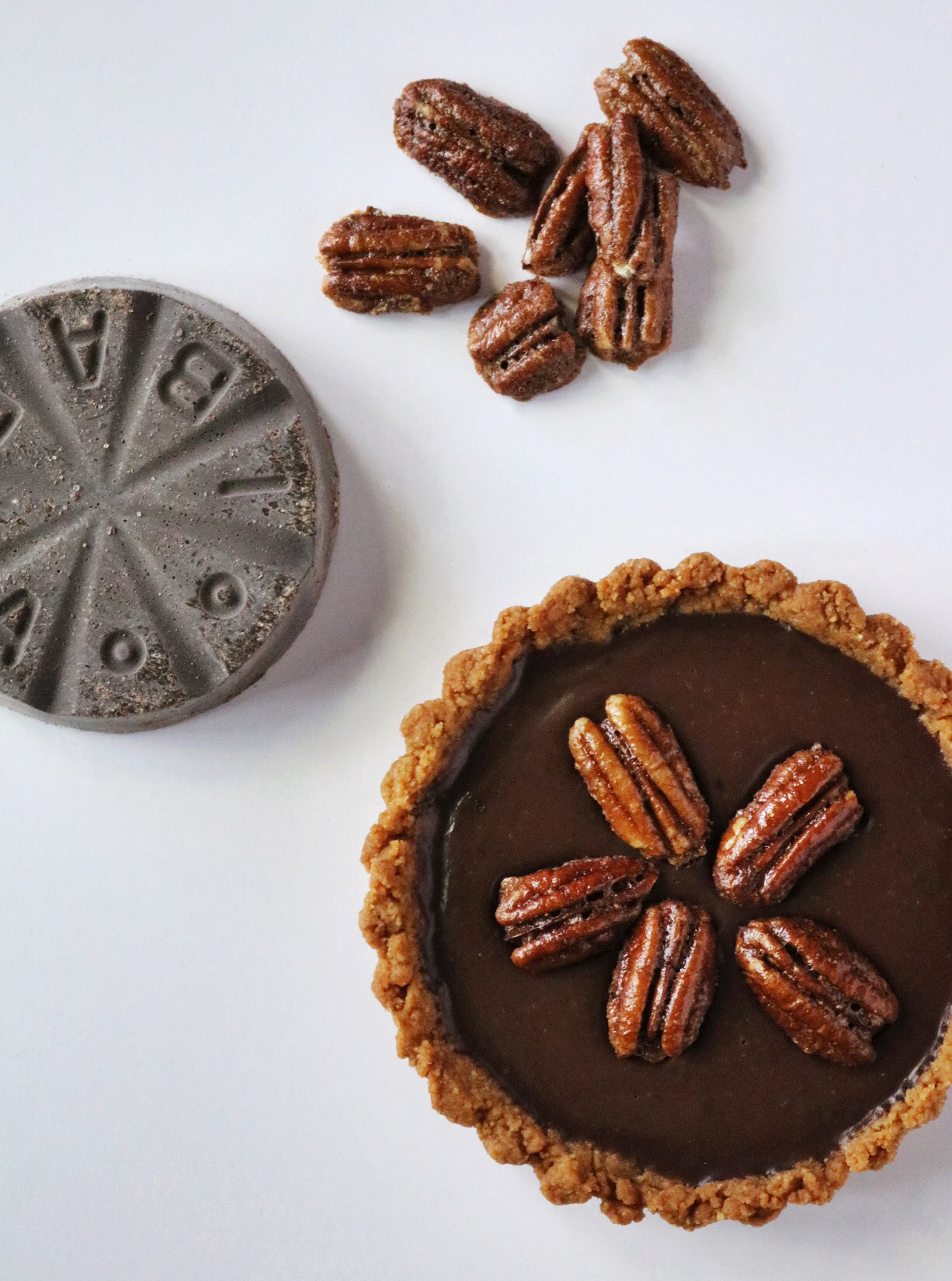 Mexican Chocolate Mini Pies