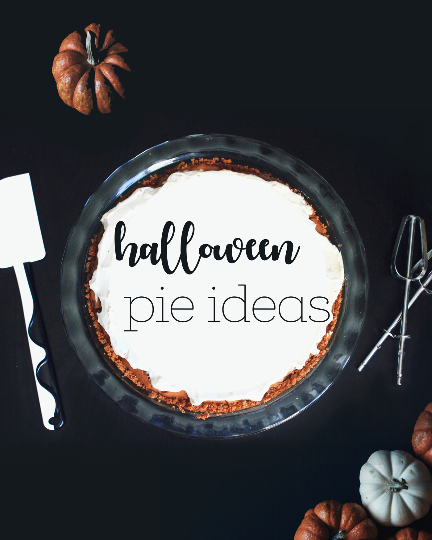 Creative & Spooky Halloween Pie Ideas