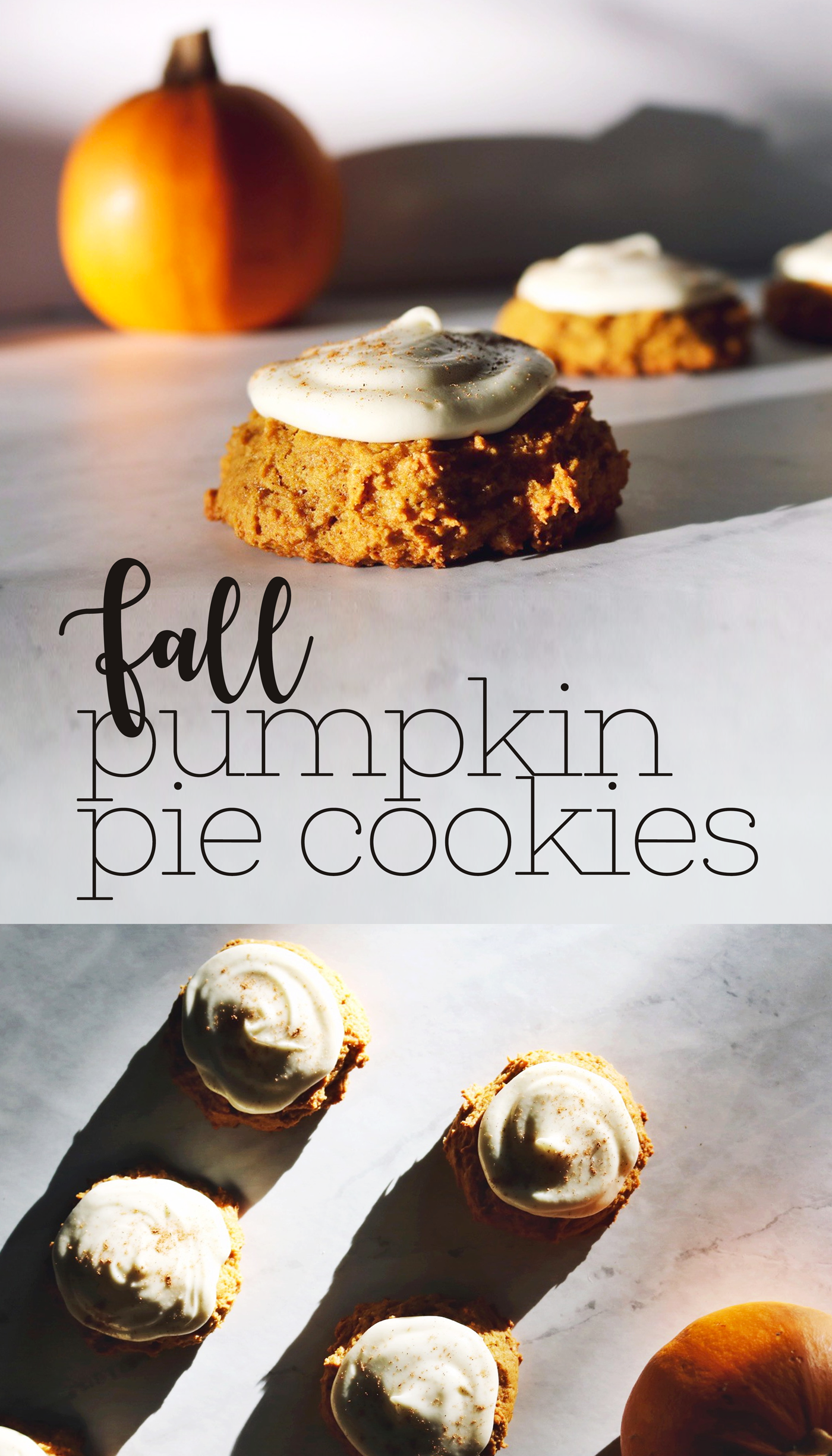 Fall Pumpkin Pie Cookie Recipe | Pies Before Guys