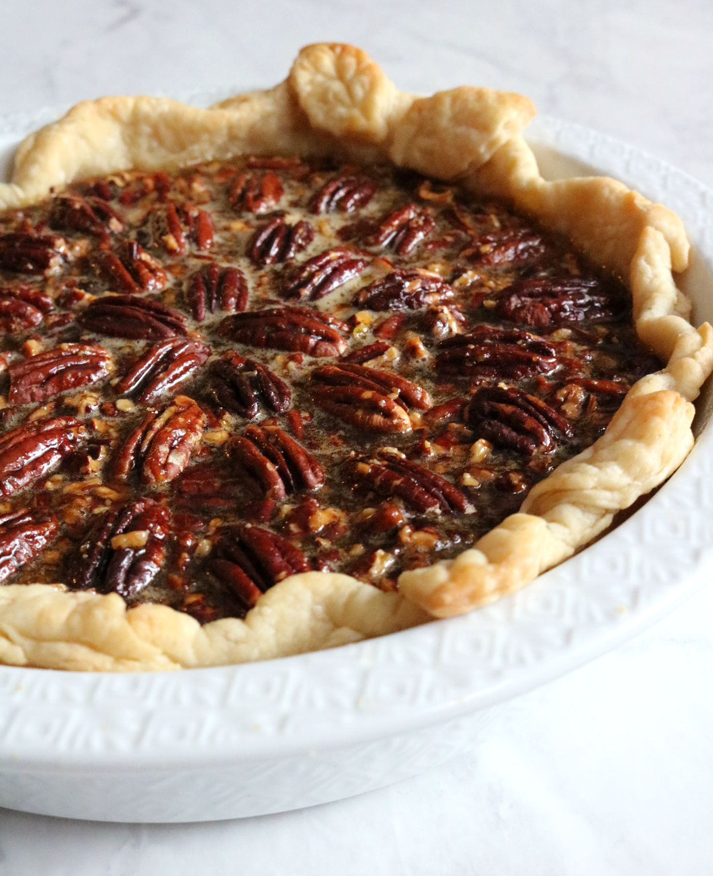Maple Bourbon Pecan Pie recipe | Pies Before Guys