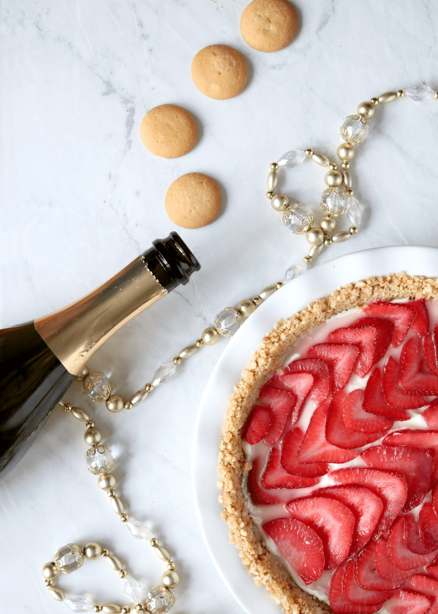 Strawberry Champagne Pie Recipe