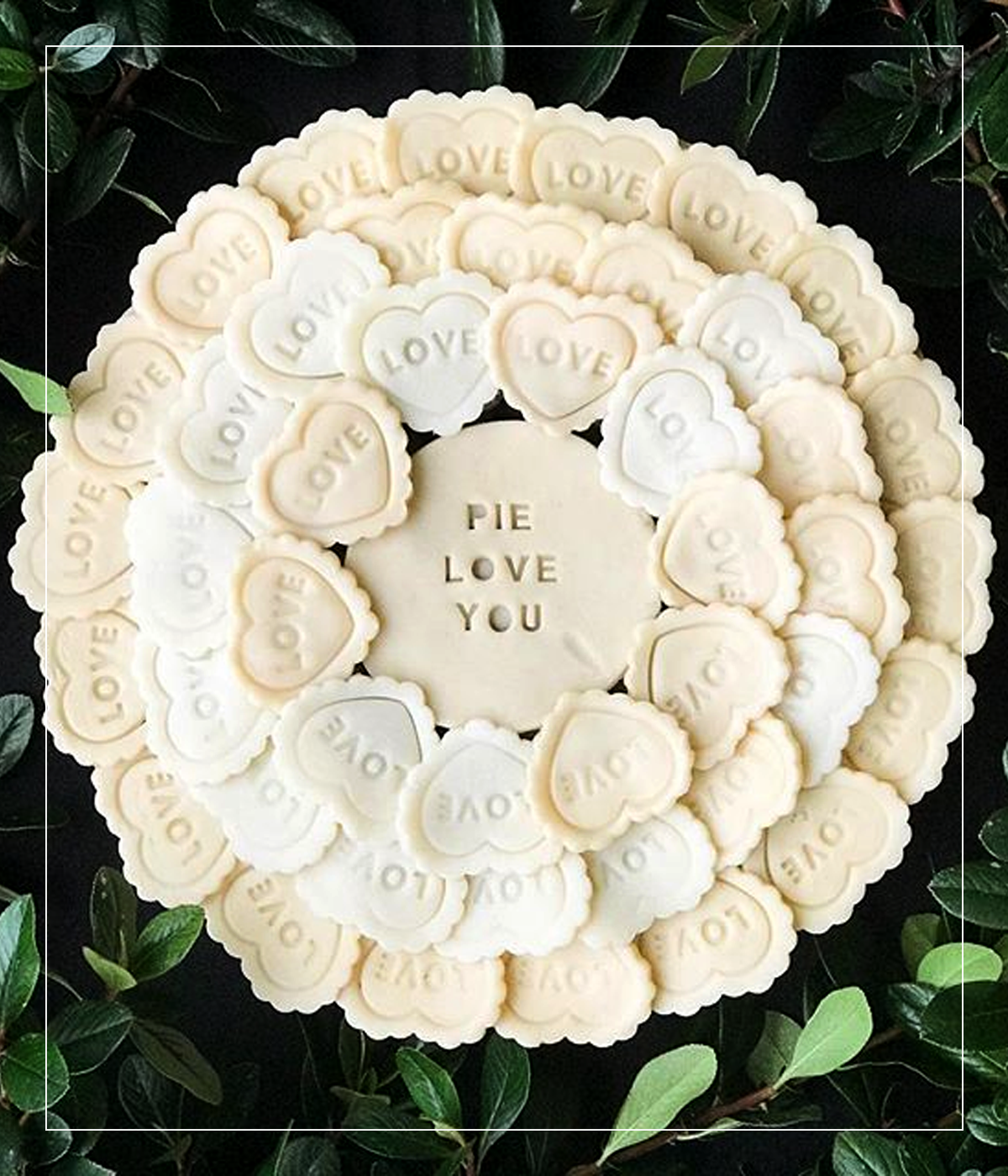 7 Valentine's Day Pie Crust Ideas | via Pies Before Guys